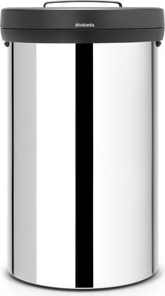 Мусорный бак 60л, полированная сталь Brabantia BIG BIN 107948