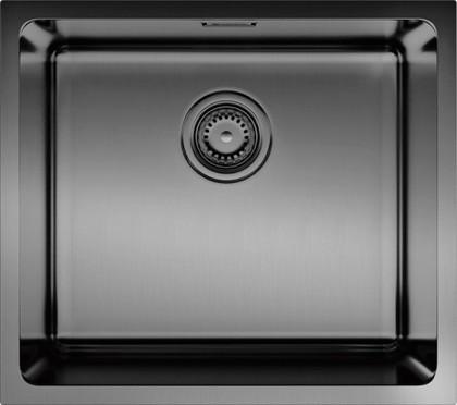 Кухонная мойка без крыла, нержавеющая воронёная сталь Omoikiri Tadzava 49-GM 4993076