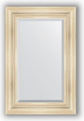 Зеркало с фацетом в багетной раме 59x89см травленое серебро 99мм Evoform BY 3419