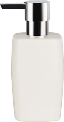Ёмкость для жидкого мыла керамическая белая Spirella RETRO 1008072