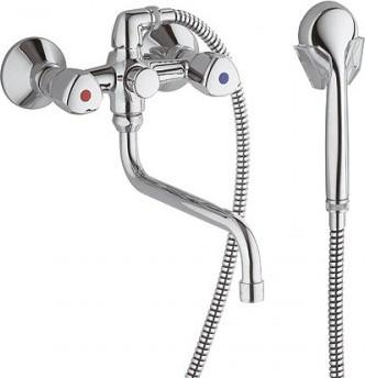 Смеситель для ванны с поворотным изливом Kludi Standart 251230515