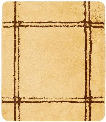 Коврик для ванной 55x65см оранжевый Spirella CHESTER 1009000