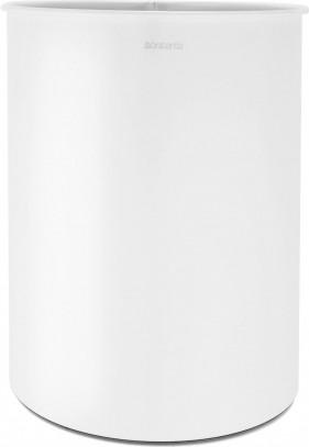 Корзина для бумаг 15л белая Brabantia 177408