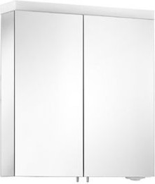 Зеркальный двухдверный шкаф 65x70см с подсветкой Keuco ROYAL REFLEX 24002171301