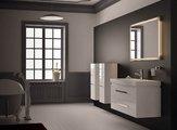 """Компания """"Верона"""" (Verona), коллекция мебели для ванной LUSSO, зеркало для ванной с подсветкой и сенсорным выключателем, встроенные светодиоды, ширина 125см, артикул LS709"""