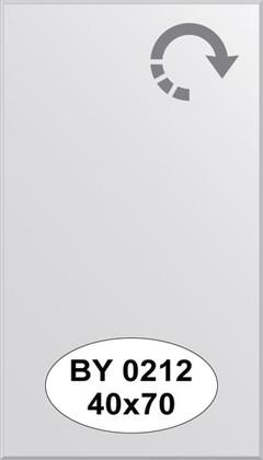 Зеркало 40x70см с фацетом 5мм Evoform BY 0212