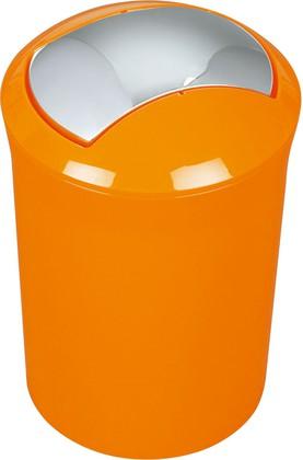Ведро для мусора 5л оранжевое Spirella SYDNEY Acrylic 1014382