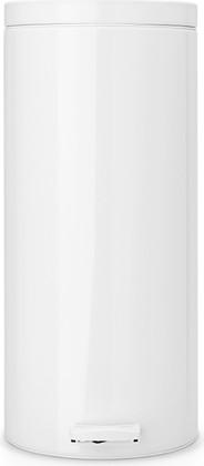 Мусорный бак 30л с педалью, MotionControl, белый Brabantia 287640