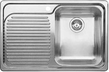 Кухонная мойка чаша справа, крыло слева, нержавеющая сталь зеркальной полировки Blanco CLASSIC 4 S-IF 518766