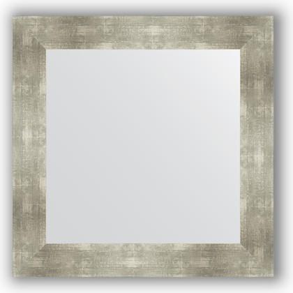 Зеркало в багетной раме 70x70см алюминий 90мм Evoform BY 3154
