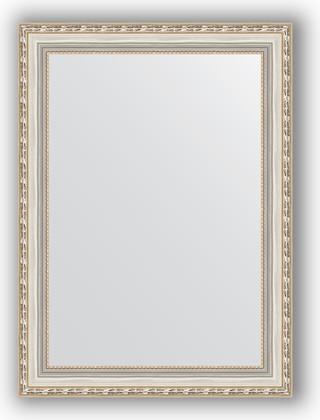 Зеркало в багетной раме 55x75см версаль серебро 64мм Evoform BY 3046