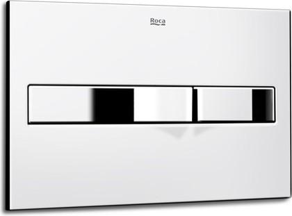 Клавиша двойного смыва PL2 для унитаза, хром глянцевый Roca In-Wall 890096001
