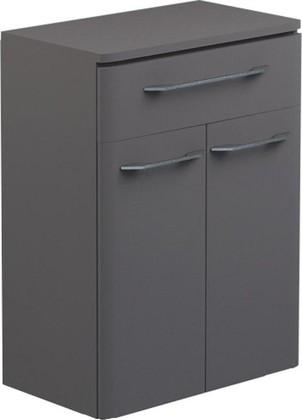 Шкаф средний подвесной, 2 двери, 1 ящик, 60x34x80см Verona Moderna MD403