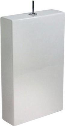 Duravit STARCK 1 Бачок для напольного унитаза с арматурой, ручка смыва Puro, покрытие WG, артикул 87271000051