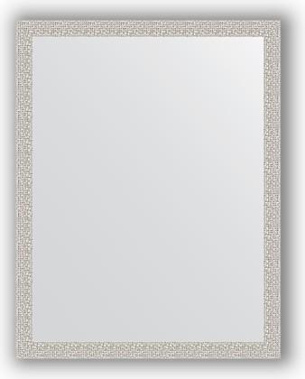 Зеркало в багетной раме 71x91см мозаика хром 46мм Evoform BY 3260