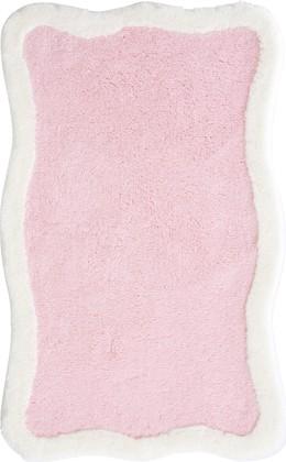 Коврик для ванной 60x100см розовый Grund TUTTI 2571.16.4095