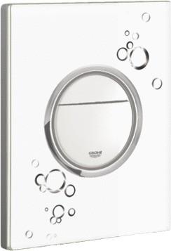 Кнопка смыва для инсталляции для унитаза, белый глянец Grohe NOVA Cosmopolitan 38847LI0