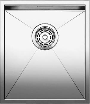 Кухонная мойка без крыла, нержавеющая сталь зеркальной полировки Blanco ZEROX 340-IF 517238