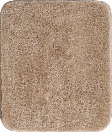 Коврик для ванной 50x60см бежевый Grund MELO 2559.76.4136