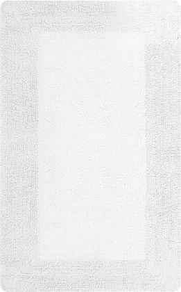 Коврик для ванной комнаты 70x120см белый Spirella GAIA 1018031