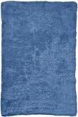 Коврик для ванной комнаты хлопковый 50x70см синий Spirella CAMPUS 4006062