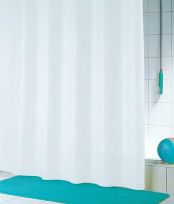 Штора для ванны 180x180см белая Spirella ROMANA 4005174