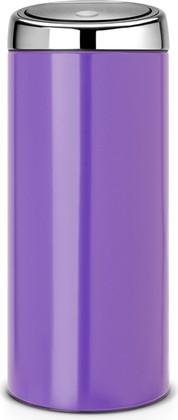 Ведро для мусора 30л фиолетовое Brabantia TOUCH BIN 481901