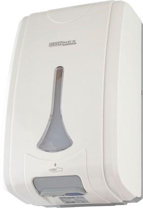 Дозатор для жидкого мыла автоматический (сенсорный), белый Connex ASD-210 WHITE