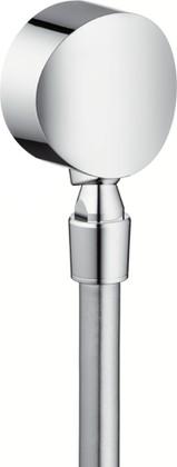 Шланговое подсоединение поворотное, хром Hansgrohe Fixfit Style 27506000