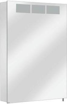 Зеркальный шкаф 50.5x70.0см с подсветкой однодверный, петли слева Keuco ROYAL T1 12601171201