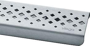 Дизайн-решетка стальная матовая, 900мм Viega Advantix Visign ER1 570446