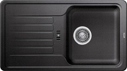 Кухонная мойка оборачиваемая с крылом, гранит, антрацит Blanco FAVOS Mini 518186