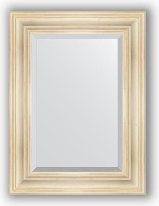 Зеркало с фацетом в багетной раме 59x79см травленое серебро 99мм Evoform BY 3393