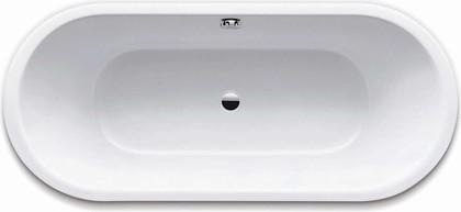 Ванна стальная 180x80см, Perl-Effekt Kaldewei CLASSIC DUO OVAL 111 2912.0001.3001