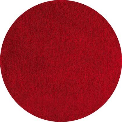 Коврик для ванной круглый диам.80см красный Grund LEX 2622.43.4007