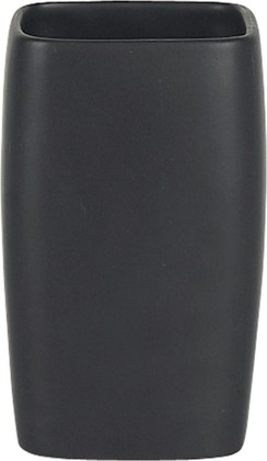 Стакан чёрный Spirella RETRO 1008079
