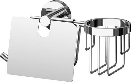 Держатель для освежителя и туалетной бумаги с крышкой ArtWelle HAR 051