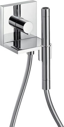 Душевой гарнитур с запорным вентилем, 2 вида струи, хром Hansgrohe AXOR ShowerCollection 10651000