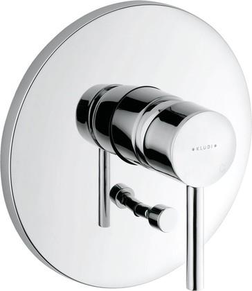 Смеситель для ванны однорычажный встраиваемый без излива, хром Kludi BOZZ 386500576