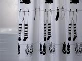 Штора для ванны 180x200см белая с кольцами 12шт Grund RUE DE PAPILLON 2181.98.1014