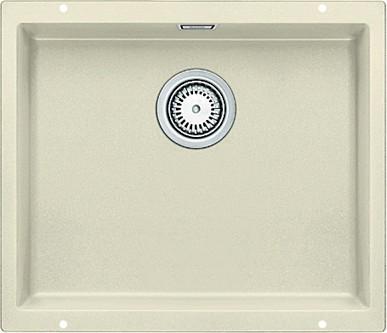 Кухонная мойка без крыла, с клапаном-автоматом, гранит, жасмин Blanco SUBLINE 500-U 513410