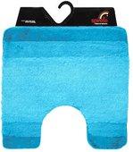 Коврик для туалета Spirella BALANCE (turkis) голубой 55х55см 1009217