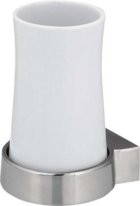 Стакан настенный, белый / хром Spirella SYDNEY 1003179