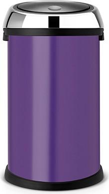 Ведро для мусора 50л фиолетовое Brabantia TOUCH BIN 484728