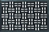 Коврик придверный 40x60см для улицы чёрный, резина Golze DYNAMIC 327-15-00
