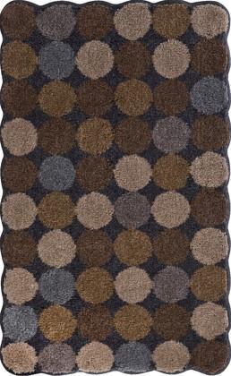 Коврик для ванной 60x100см коричневый Grund AGARTI 3618.16.068