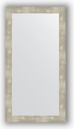 Зеркало в багетной раме 54x104см алюминий 61мм Evoform BY 3076