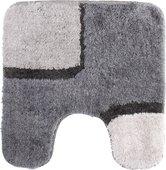 Коврик для туалета 55x55см серый Spirella BOND 1011922