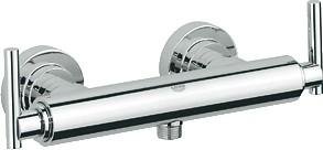 Смеситель вентильный для душа с подключением шланга, хром Grohe ATRIO 26004000