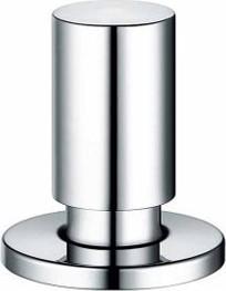 Кнопка управления клапаном-автоматом цилиндрическая, хромированная полированная латунь Blanco 221339